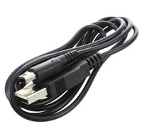 Şarj şarj kablosu Yeni Nintendo NDS 3DS 3DSLL NDSSI 3DSXL USB DSI şarj kablosu veri senkronizasyon kablosu 1.2 m siyah renk
