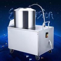 Güvenli ve rahat enerji tasarrufu sanayi tipi mutfak eşyası paslanmaz çelik patates soyma makinesi