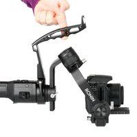 DH09 ل dji ronin-s يده gimbal ل Zhiyun رافعة 2 م بالإضافة إلى امتداد المثبت للتصوير الفوتوغرافي الكاميرا