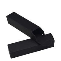 2 * 2 * 8.5cm Emballage Cadeau Noir Kraft Boîte De Papier Détail DIY Rouge À Lèvres Faveur De Mariage Décoratif Paquet Carton Boîtes 50pcs / lot