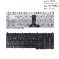 NEW الإنجليزية وحة مفاتيح الكمبيوتر المحمول لتوشيبا لوحة المفاتيح A500 A505 A505D P505 الأسود لوحة المفاتيح إصلاح أجهزة الكمبيوتر المحمول الولايات المتحدة