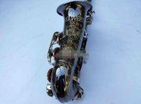 ألمانيا JK SX90R Keilwerth الساكسفون ألتو الأسود النيكل سبائك الفضة ألتو ساكس براس آلات موسيقية مع حالة لسان الحال نسخة