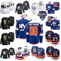 2020 New York Islanders 44 Jean-Gabriel Pageau Hockey su ghiaccio pullover Donne 4 Andy Greene Mathew Barzal Anders Lee Matt Martin All-Star su misura