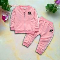 D Kids Sets 1- 4T Kids Cardigan Zipper Coats Pants 2Pcs sets ...
