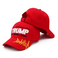 New Trump Hat 2020 American Presidential Election Letter Emb...