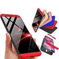 Protector de pantalla completa híbrido ultra-delgado a prueba de golpes de lujo PC Funda con tapa dura para teléfono, para Samsung Galaxy S6 S7 Edge S8 S9 Plus Nota 8 9