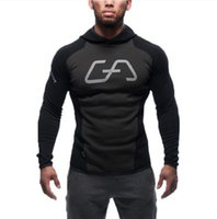 New Mens Fitness Hooded Sweater Bodybuilding Brothers Gym Wo...