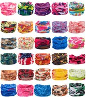 Fashion Paisley Design Stylish Magic Ride Magic Anti-UV Bandana Headband Scarf Hip-hop Multifunctional Bandana Outdoor Head Scarf R1258