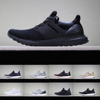 2019 Ultra Boot 3.0 4.0 Triple Black and White Primeknit Oreo CNY Azul gris Hombres Mujeres Zapatos para correr Ultra Boots deporte ultraboot Zapatillas deportivas