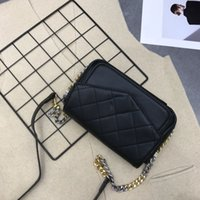 Designer-Taschen Berühmte Marke Summer Classic New Black Flap Ketten Diamond Lattice Single Schulter Crossbody-Tasche