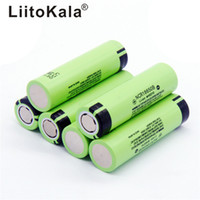 NCR18650B 34B batteria 3400mAh 18650 3.7v 3200mAh batteria al litio Li-on Cellulari Flat Top Batterie ricaricabili per Panasonic Ecig