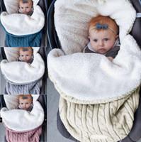Kış Bebek Battaniye Unicorn Bebek Kundak Şal Yumuşak Yenidoğan Uyku Tulumu Sıcak Uyku Çuval Arabası Tamamladı 12 Tasarımlar 10 adet LYW1634