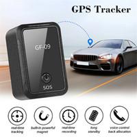 GF-09 magnética del GPS de seguimiento de dispositivos SOS impermeable mini alarma GPS Car Tracker Drop Shock Voz / APP de control del coche localizador GPS Rastreador