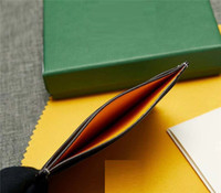 حامل البطاقة أعلى جودة باريس نمط الكلاسيكية الرجال الشهيرة النساء الشهيرة جلد طبيعي جي بطاقة الائتمان حامل مصغرة محفظة مع مربع الغبار