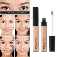 PHOERA Cicatrici Copertura dell'acne Crema correttore liscia 10 colori Viso Occhi Fondotinta Trucco Duraturo Cosmetico