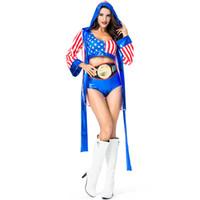 Женщины Боксер Костюмы Выбить Девушка Женщина Боксер Бокс Необычные Одеваются Хэллоуин Взрослый Костюм Женщины Необычные Костюмы Костюм