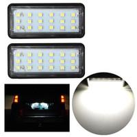 Бесплатная доставка 2x ошибка бесплатно LED SMD3528 номерного знака свет номерного знака лампа для Toyota / Land / Cruiser / Lexus / GX / LX470