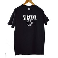 Nirvana T- shirts Men Women Summer Harajuku Cotton Tops Tees ...