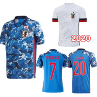 2020 Kagawa اليابان لاعب المشجعين النسخة المنزل أزرق بعيدا الأبيض رجل لكرة القدم جيرسي الذرة endo okazaki nagatomo hasebe kamamoto كرة القدم قميص 2020