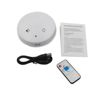 Smoke Detector Pinhole camera DVR with Remote control Motion...