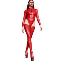 Латекс носки Sexy бедро высокие чулки Temptation Блестящие носки Женщины колена чулочно-носочные изделия Cosplay Club Stage Wear Catwoman колготки