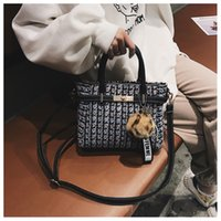 Appliques Pom Poms Ladies Tote bags Shoulder Cross body Purs...