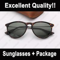 النظارات الشمسية الأزياء الاستقطاب مصمم القط العين ماركة النظارات الشمسية des lunettes de soleil للرجال المرأة العلامة التجارية نظارات الشمس مع حقيبة جلدية
