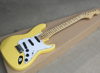 Factory Wholesale Yellow Electric Guitar with Maple Fretboar...