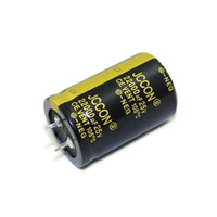 JCCON boynuz alüminyum elektrolitik kapasitör 25v22000uf hacmi 30x45 ses amplifikatörü, ses