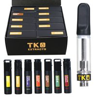 Black TKO Extracts Sauce Carts 0. 8ml 1. 0ml empty Vape Cartri...
