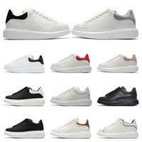2020 Designer Shoes Platform Mens Women white leather suede ...
