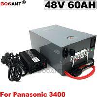 Batteria ricaricabile per bicicletta elettrica 48V 60AH per Bafang BBSHD 2000W 3000W Batteria per E-bike motore E-bike 48V + una scatola di metallo