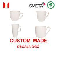 Bonne qualité personnalisée logo mugs biscuits tasse de céramique de la céramique de haute qualité cadeau Tasse en porcelaine Starbucks Coupes de vacances 16oz