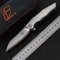 Libing العفريت الصيد سكين M390 بليد التيتانيوم التكتيكي بقاء سكين التخييم أدوات المطبخ الطاهي الصيد الطي سكاكين edc