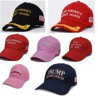 New Donald Trump 2020 Baseballmütze Halten Make Amerika Große Hüte Stickerei USA Election Hysteresen-Hut Outddor Sport Cap HH9-2216