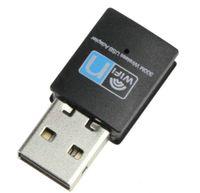 네트워크 카드 802.11 n 개의 동글 무선 와이파이 어댑터 미니 300M USB2.0 RTL8192 와이파이 동글 와이파이 / g / 무선 인터넷 LAN Adapte 높은 Qualityr B