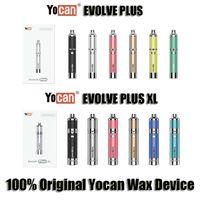 Orijinal Yocan Evolve Artı XL Wax Kalem 1400mAh batarya Büyük Kapasiteli Güncelleme Vision Evolve Artı Başlangıç Setleri Wax gör dabber Aracı E Cigrette