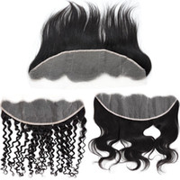 New Arrival 13x4 Transparent Lace Frontal Closures Baby Hair...