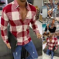 أزياء الرجال الصيف هاواي الزهور كم طويل الرقبة V T-shirt قميص قمم عارضة