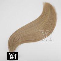 VMAE ضعف الانتباه قبل الاستعبادي الشعر الإيطالي كيراتين فيوجن الهندي الإنسان الطبيعي مستقيم 1G / 100G حبلا NAIL U TIP عذراء الشعر التمديد