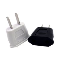 EU Europe to US American Power AC Wall Plug Converter Travel...