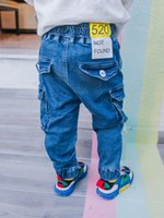 Boys Jeans 2020 New Spring and Autumn Children' s Recrea...
