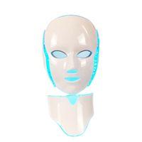 Маска Сид терапией света ФДТ лицевая с 7 цветами фотона для стороны и шеи домашняя маска Сид Подмолаживания кожи пользы