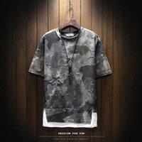 Marke Military Camouflage Kleidung Frühling Männer Design T-Shirt Kurzarm Tactical T-Shirt Masculina T-Shirt Broken T-Shirt Regular