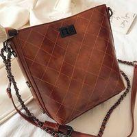 Bag Purse Womens Checkered Wallet On Chain Crossbody Handbag Bucket Fashion Handbags Shoulder Fbgnh