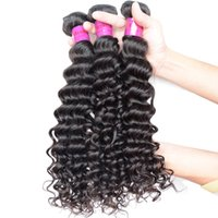 Cheap Indian Curly Hair 4 Bundles Malaysian Deep Wave Remy P...