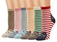 6 стилей Новая мода Различные Стиль Женщины Мужчины Повседневная Хлопок Носки Симпатичные Кошки Зима Осенние Кноучки Носки