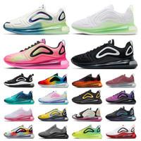 max 720 airmax Bubble Pack STOCK X جديد وصول 720 أحذية رياضية للرجال النساء حار lava الهراء الذهبي فولت بيترو الثلاثي الأبيض الليزر الوردي الرجال رياضية الاحذية 36-45