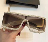 004 Moda Yeni Güneş Retro Çerçevesiz Güneş kutusu Vintage Punk tarzı Gözlük Üst Kalite UV400 Koruma gözlük