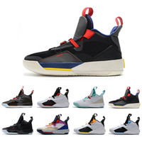 Remise 33 XXXIII 33s Chaussures de basket athlétique Pack Tech Homme Blackout Utilitaire Visible Utilité Future of Flight Sports de plein air Baskets
